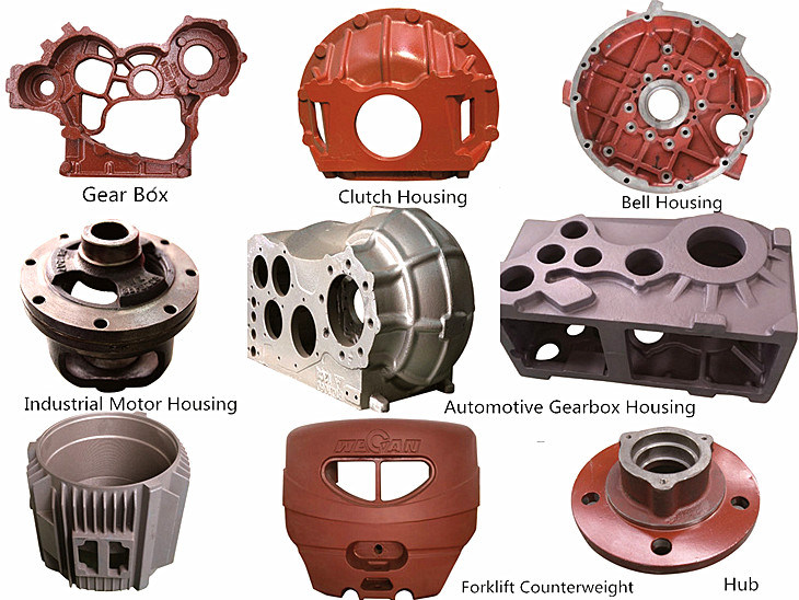 Casting Iron Parts for The Agricultural Machinery Famer Truck