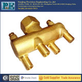 Custom Precision Forged Brass High Pressure Manifold