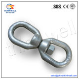 G402 Forged Hot DIP Galvanized Regular Chain Swivel