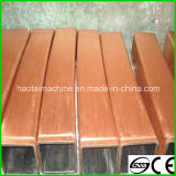 100*100mm Copper Mould Tube for Continuous Casting Machine