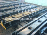 Custom Cast Iron T-Slotted Floor Clamping Rails and Floor Skid/Sand Casting