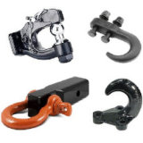 Tow Hook Forgings for Trucks or Excavators