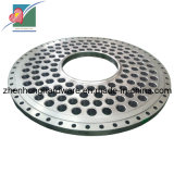 Tube Sheet Stainless Steel Forging Tube Plate Tube Plates (ZH-TP-009)